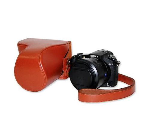 Retro Sony Cyber-shot DSC-RX10 Camera Leather Case