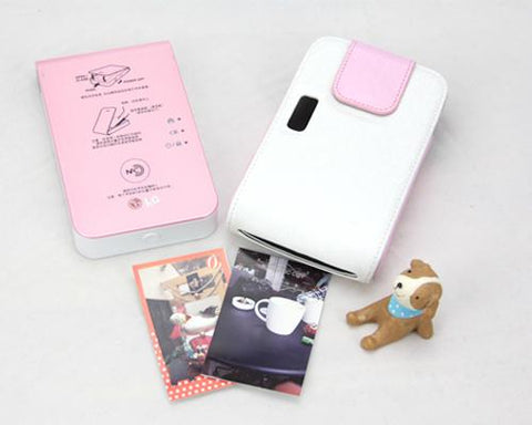 LG Pocket Photo Mobile Portable Printer PD239 Case - White