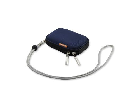 Zipper Samsung ST200F Camera Case - Navy