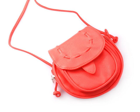 Lovely PU Leather Shoulder Bag - Red