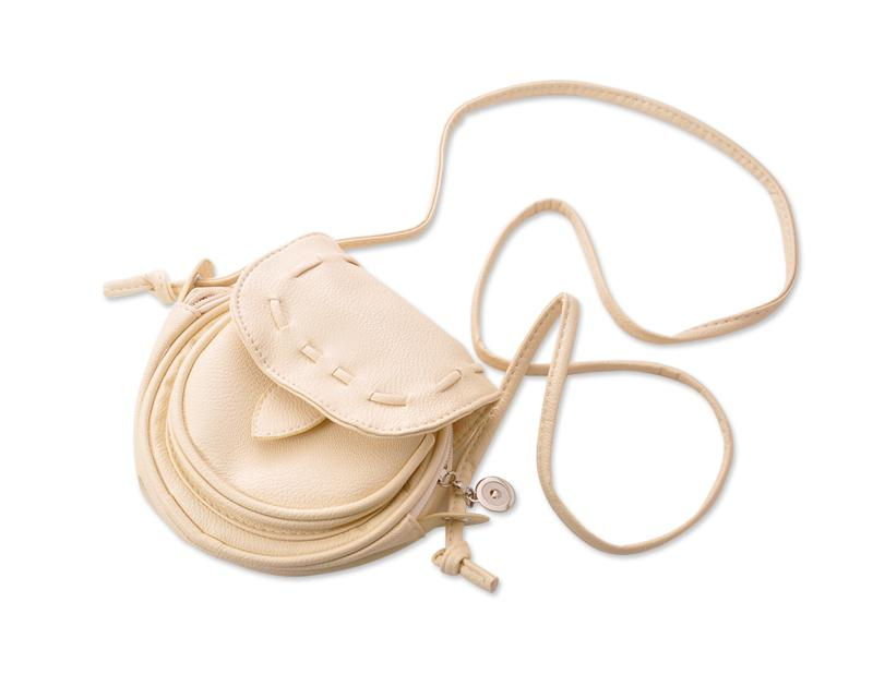 Lovely PU Leather Shoulder Bag - White