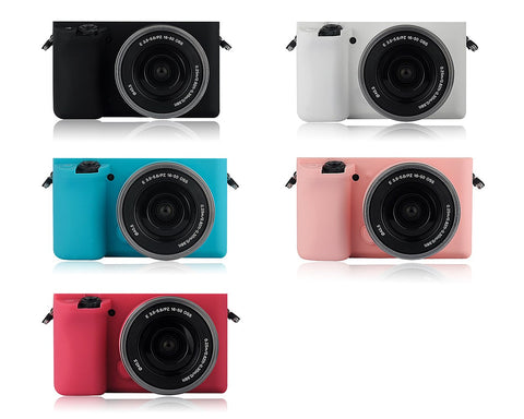 Silicone Case for Sony a5100 Camera with 6-50mm Prime Lens