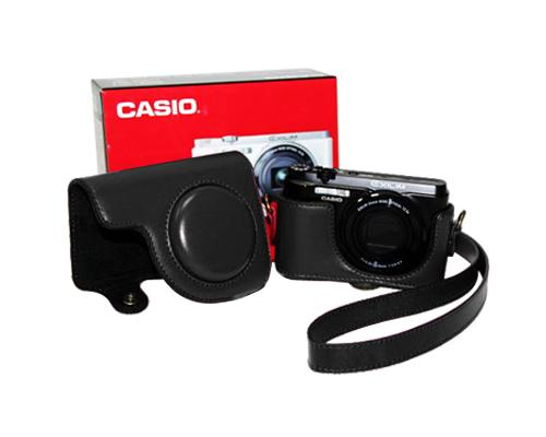 Retro Casio Exilim EX-H50 Digital Camera Leather Case