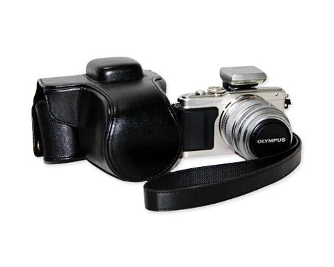 Retro Olympus PEN E-PL7 Camera Leather Case