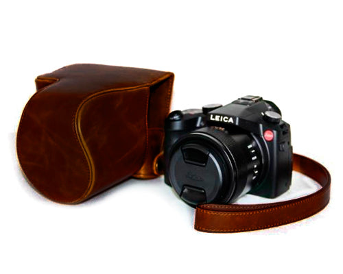Retro Camera Leather Case for Leica V-LUX (TYP 114)