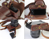 Premium Series Canon EOS M10 Camera Leather Case