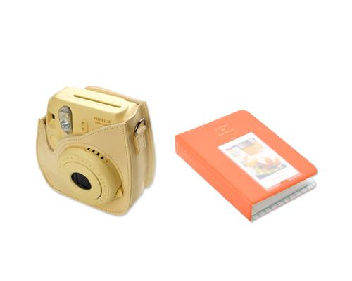 Fujifilm Bundle Set Instax Case/Album for Fuji Instax Mini 8 - Orange