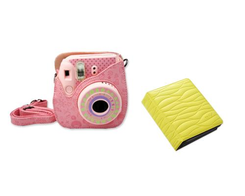 Fujifilm Bundle Set Mini Case/Album for Fuji Instax Mini 8 - Yellow