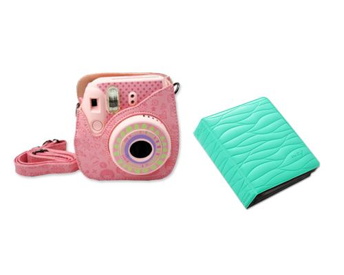 Fujifilm Bundle Set Mini Case/Album for Fuji Instax Mini 8 - Mint