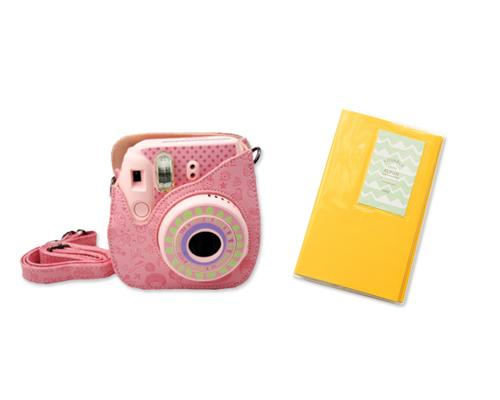 Fujifilm Bundle Set Mini Case/Album for Fuji Instax Mini 8 - Lovable