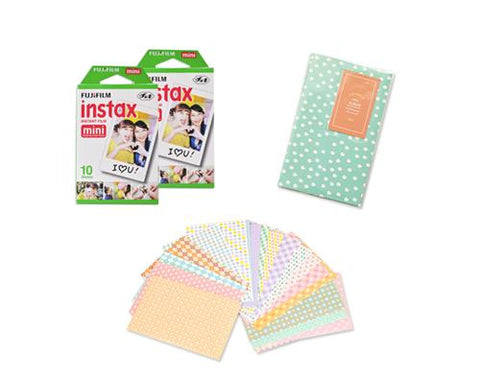 Fujifilm Bundle Set Fujifilm Album/Frame for Fujifilm Mini Films-Daisy