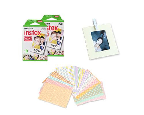 Fujifilm Bundle Set Fujifilm Album/Frame for Fujifilm Mini Film - DIY