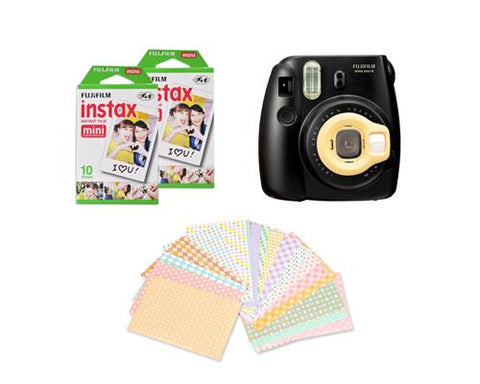 Fujifilm Bundle Set Fujifilm Films/Lens for Fuji Mini 8 -Yellow