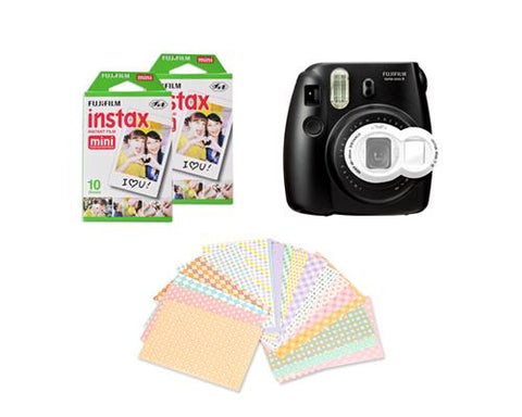 Fujifilm Bundle Set Sticker/Lens for Fuji Mini 7S, Mini 8 -White