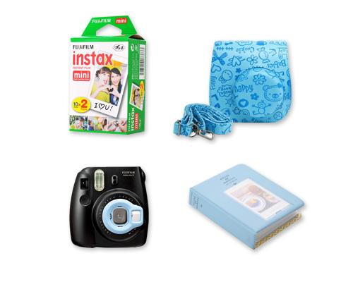 Fujifilm Bundle Cartoon Case/Films for Fujifilm Instax Mini 8 - Blue