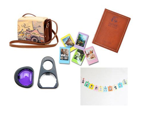 Fujifilm Bundle Set Selfie Lens/Frame /Sticker for Fuji Instax Mini 90