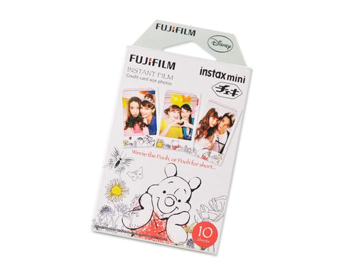 Fujifilm Instax Mini Film for Fuji Instax Film Camera -Winnie the Pooh