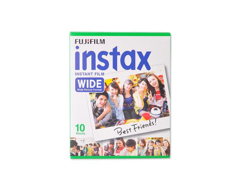 Fujifilm Instax Wide Film for Fuji Instant Film Camera, 10 Sheets/Pack