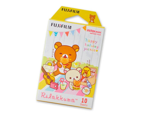 Fujifilm Instax Mini Films for Instant Camera-Rilakkuma Holiday Picnic