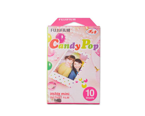 Fujifilm Instax Mini Films Polaroid Photo 50 Sheets - Candy Pop