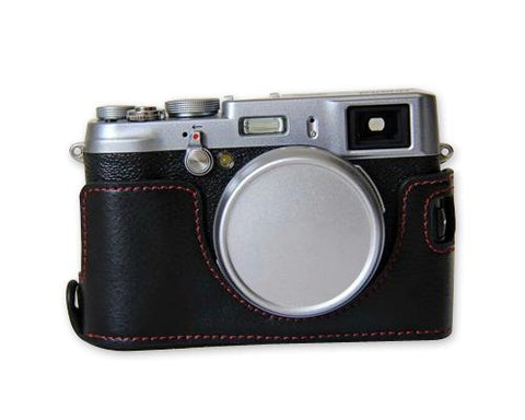 Fujifilm X100T Genuine Leather Half Camera Case