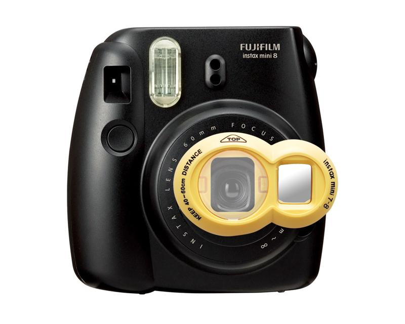 Fujifilm Close-Up Lens for Instax Mini 7S Mini 8 Cameras - Yellow