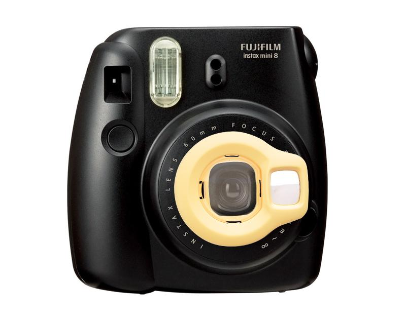 Fujifilm Close-Up Lens for Instax Mini 8 Camera - Yellow