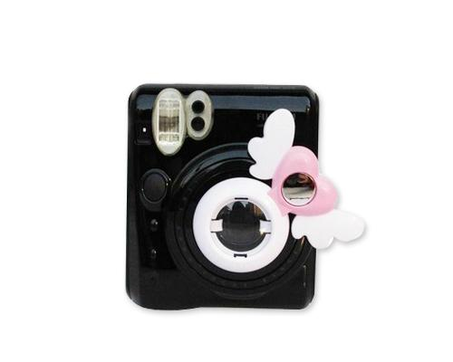 Mini Selfie Photo Lens Frame for Fujifilm Instax Mini 50S - White