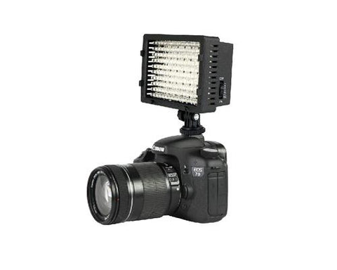 160 LED Dimmable Panel Video LED Light for DSLR Cameras and Camcorder