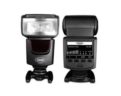 Professional DF-400 Speedlite Camera Flash for Canon Nikon DSLR Camera
