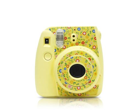 Garden Camera Sticker for Fujifilm Instax mini 8 - Yellow