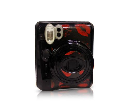 Lips Camera Sticker for Fujifilm Instax mini 50S - Red