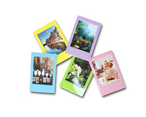 10 Pcs Colorful Photo Frame Set For Fujifilm Instax Polaroid Mini Film
