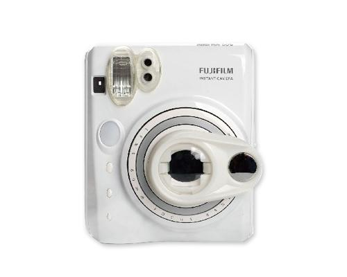 Selfie Photo Lens Frame with Mirror For Instax Mini 50S - White