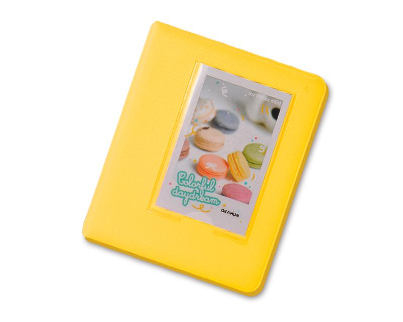 Candy Photo Album for Fujifilm Instax Mini Films - Yellow