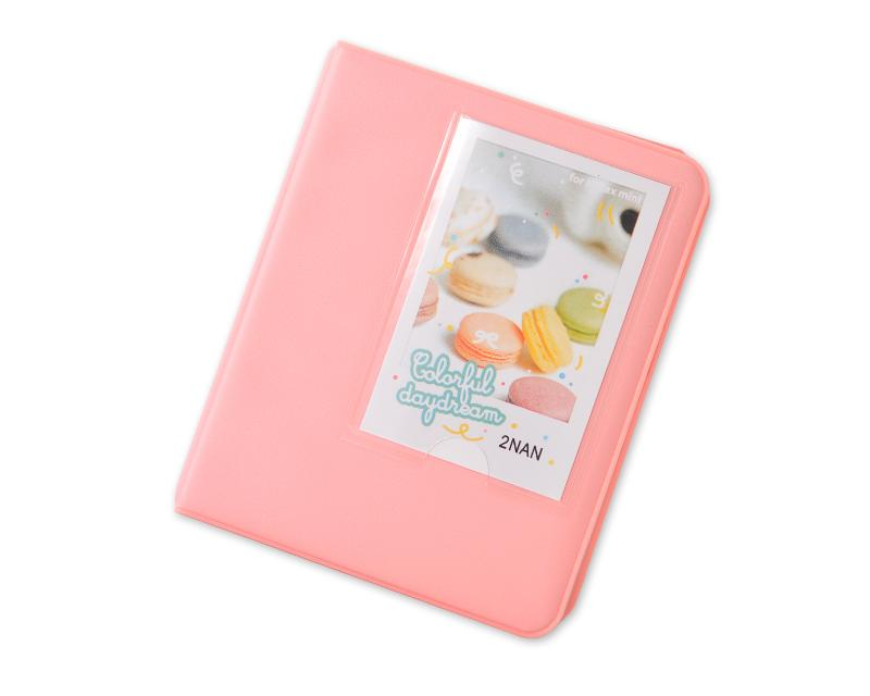 Candy Photo Album for Fujifilm Instax Mini Films - Pink