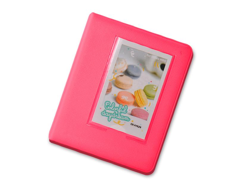 Candy Photo Album for Fujifilm Instax Mini Films - Magenta