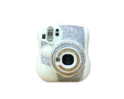 Diamond Camera Sticker for Fujifilm Instax Mini 25 - Gold