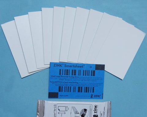 Photo Paper for LG Pocket Photo Printer PD233 / PD239 30 Sheets