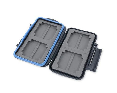 Camera Memory Cards Storage Case - Black