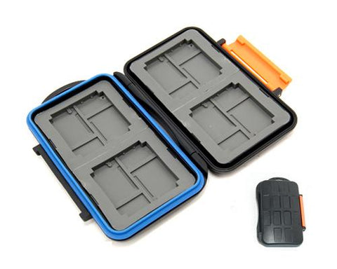 Camera Memory Cards Storage Case - Orange