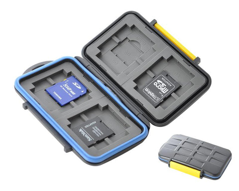 Camera Memory Cards Storage Case - Yellow