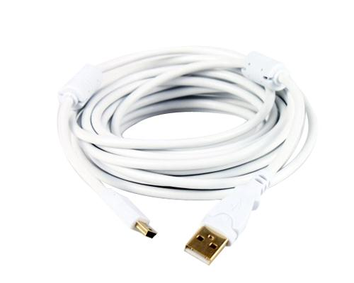 High Speed Digital Camera USB Cable - White
