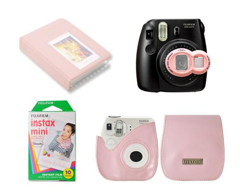 Fujifilm Bundle Set Instax Films/Album for Fuji Instax Mini 7S - Pink