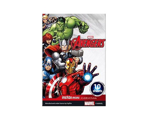 Fujifilm Instax Mini Film for Fujifilm Instant Camera -MARVEL Avengers