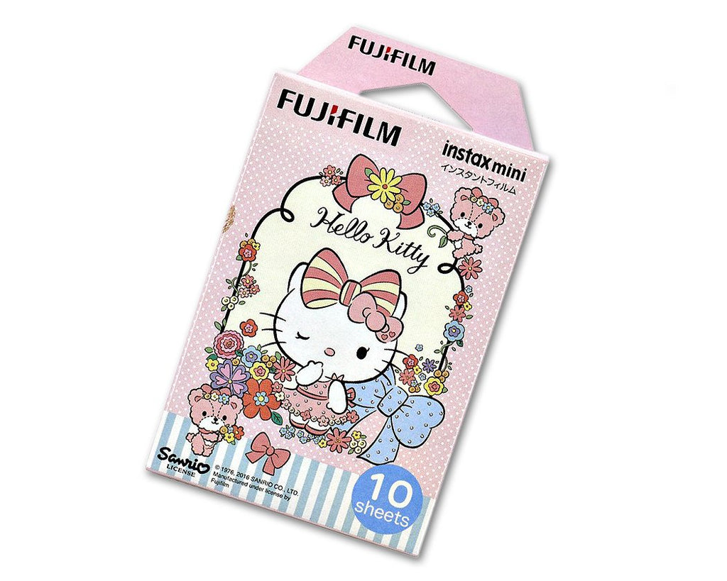 Fujifilm Film for Fuji Instax Mini Camera - New Hello Kitty Pink