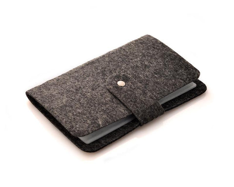 Wool Mini Book Photo Album for Fujifilm Instax Mini Films - Black