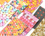 80 Sheets Fujifilm Instax Mini Films Decor Sticker Borders - Candy