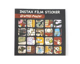 80 Sheets Fujifilm Instax Mini Films Decor Sticker Borders - Skeleton