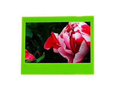 Photo Decor Frame for Fujifilm Instax Wide 210/ 200/ 300 Films - Green